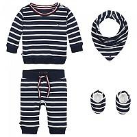 [해외]타미힐피거 KIDS Baby Rugby Stripe Giftpack Black Iris