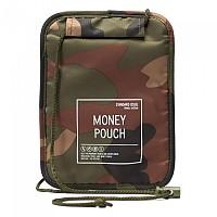 [해외]허쉘 Money Pouch Woodland Camo