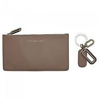 [해외]타미힐피거 SPORTSWEAR Leather Cc W Keyfob Navy / Cream