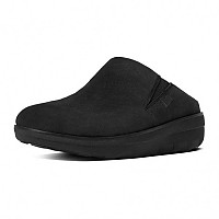 [해외]핏플랍 Loaff Suede Clogs Black