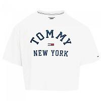 [해외]타미힐피거 New York Logo Cropped Classic White
