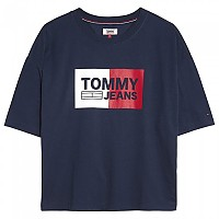 [해외]TOMMY JEANS Box Logo Black Iris