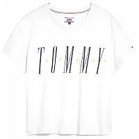 [해외]TOMMY JEANS Layer Graphic Classic White