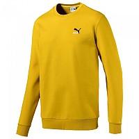 [해외]푸마 SELECT Classics Embroidered Crew Sulphur Yellow