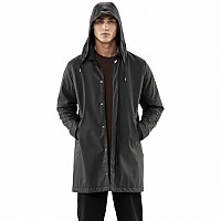 [해외]RAINS Mac Coat Black