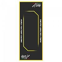 [해외]HURLY Workstation Mat 53x100 xcm Black / Yellow