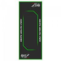 [해외]HURLY Workstation Mat 53x100 xcm Black / Green
