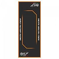 [해외]HURLY Workstation Mat 80x200 cm Black / Orange