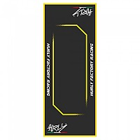 [해외]HURLY Workstation Mat 80x200 cm Black / Yellow