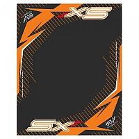 [해외]HURLY Mat SX 80x100 cm Black / Orange