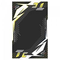 [해외]HURLY Mat TC 100x160 cm Black / Yellow / White