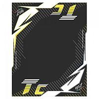 [해외]HURLY Mat TC 160x200 cm Black / Yellow / White
