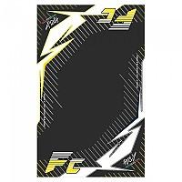 [해외]HURLY Mat FC 100x160 cm Black / Yellow / White