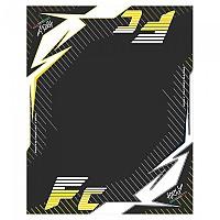 [해외]HURLY Mat FC 160x200 cm Black / Yellow / White