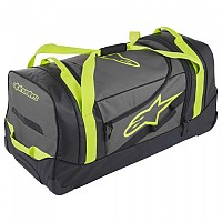 [해외]알파인스타 Komodo Travel Bag Black Anthracite Yellow Fluo
