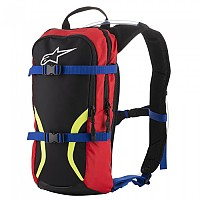 [해외]알파인스타 Iguana Hydration Backpack Black Blue Red Yellow Fluo