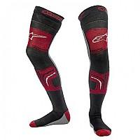 [해외]알파인스타 Knee Brace Socks Black-Grey