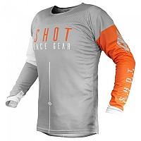 [해외]SHOT Alpha Light Grey / Orange