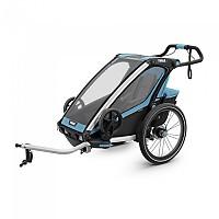 [해외]툴레 Chariot Sport 1 Blue / Black