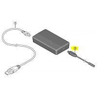 [해외]시마노 PC Tester SM-PCE1/PCE02 Cable Connection Black