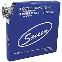[해외]SACCON MTB Cables Brake Stainless Steel Hammer 100 Units Silver