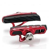 [해외]XLC Cartridge Road Brake Shoes BS R06 4 Pieces Black / Red