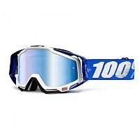 [해외]100% Goggle Racecraft Cobalt Blue Mirror