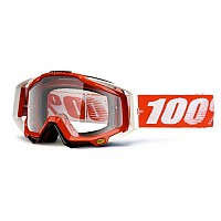 [해외]100% Goggle Racecraft Fire Red Red
