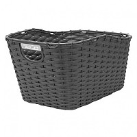 [해외]XLC Rear Polyrattan Basket Black