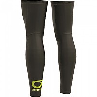 [해외]브리코 Thermic Leg Warmer Black / Green Lime
