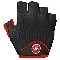 [해외]카스텔리 Tesoro W Glove Black / Red