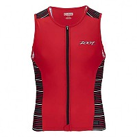 [해외]ZOOT Performance Tri Full-Zip Tank Red Jetty