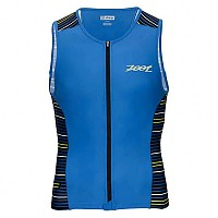 [해외]ZOOT Performance Tri Full-Zip Tank Blue Jetty