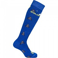 [해외]살로몬 SOCKS Team 2 Pack Nautical Blue / Sulphur Spr