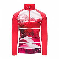 [해외]스파이더 Limitless Powder Peak Zip T Neck Hot Pink