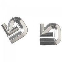 [해외]버튼 Aluminum Logo Stomp Pad Silver