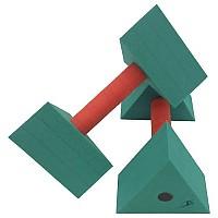 [해외]LEISIS Triangular Alter Gim Green