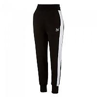 [해외]푸마 Archive Logo T7 Sweat Cotton Pants Black