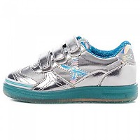 [해외]무니치 G3 Glow Velcro IN Silver / Turquoise
