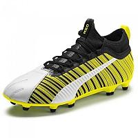 [해외]푸마 One 5.3 FG/AG Puma White / Puma Black / Yellow Alert