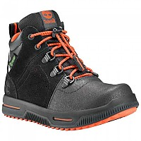 [해외]팀버랜드 City Stomper Mid Waterproof Youth Jet Black