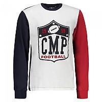 [해외]CMP Boy T-Shirt Black Blue