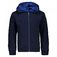 [해외]CMP Boy Jacket Fix Hood Black Blue