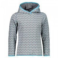 [해외]CMP Girl Sweat Fix Hood Ice / Graphite