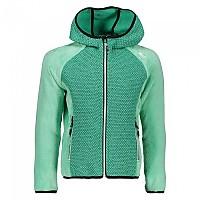[해외]CMP Girl Jacket Fix Hood AquaMint