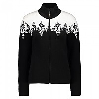 [해외]CMP Woman Knitted Jacket Black