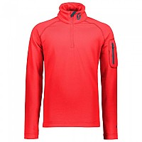 [해외]스캇 1/2 Zip Defined Light Long Sleeves Red Melon