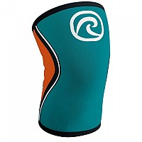 [해외]리밴드 RX Knee Sleeve 5 mm Teal / Orange