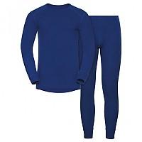 [해외]오들로 Set Shirt L/S Pants Long Warm Energy Blue
