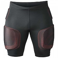 [해외]REHBAND PRN Padded Compression Black / Red